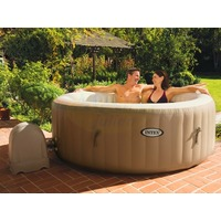 Spa Gonflable Rond INTEX AIR 1.91 0.71m 4 Places