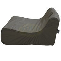 Fauteuil piscine polyester/pvc 120x100x60 Taupe