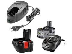 Batteries Chargeur Electroportatif