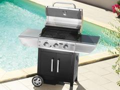 Barbecue de jardin
