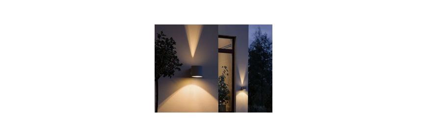 Luminaire exterieur luminaire mural valduor sud steinel for Luminaire encastrable exterieur