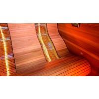 Sauna InfraRouge ERGONOMIC LOUNGE 2 places 1.4x1.4