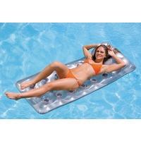 Matelas piscine TRANSPARENT/argent 188x71cm