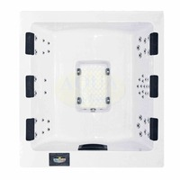 Spa CUBESPA 6 places Ultra Contemporain LEDLIGN