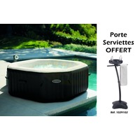 Spa Gonflable Jet & Air INTEX Carré 2.01m 4 Places