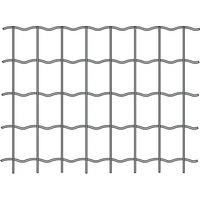 Grillage Soudé Galva Vert 100x100 H1.50m L20m