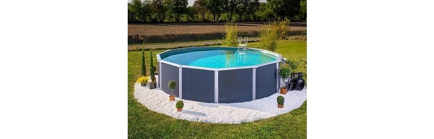 piscine hors sol ronde Wattrelos
