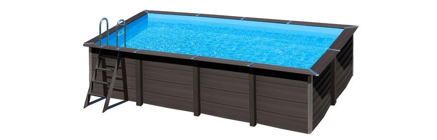 piscine bois composite hors sol. Black Bedroom Furniture Sets. Home Design Ideas